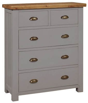 Regatta Grey Painted 2+3 Drawer Chest
