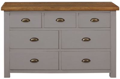 Regatta Grey Painted 3+4 Drawer Chest