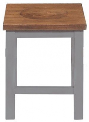 Regatta Grey Painted Dressing Stool