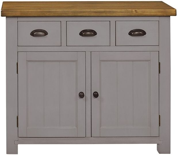 Regatta Grey 2 Door 3 Drawer Sideboard