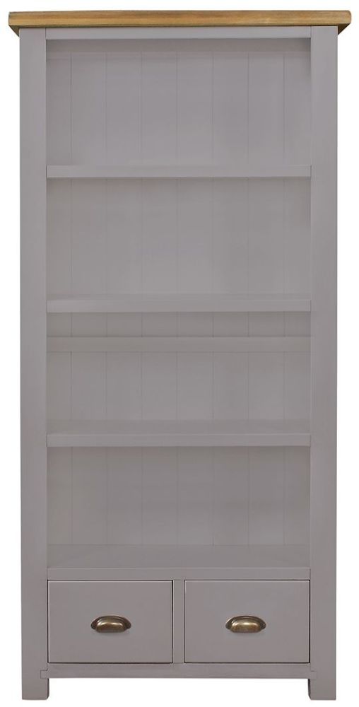 Regatta Grey Bookcase - 3 Shelves