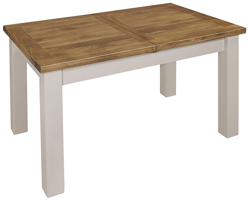 Regatta Grey Painted 140cm-180cm Extending Dining Table