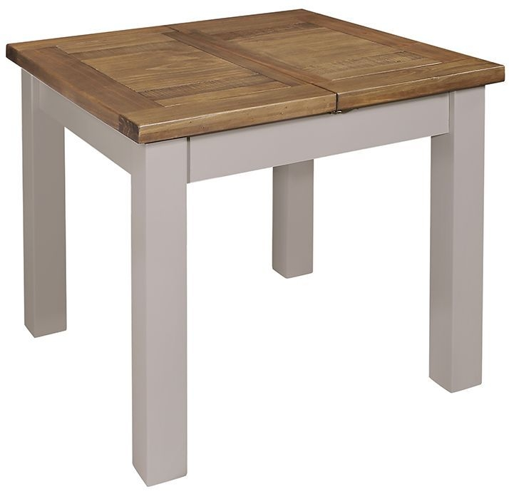 Regatta Grey Square Extending Dining Table - 90cm-130cm