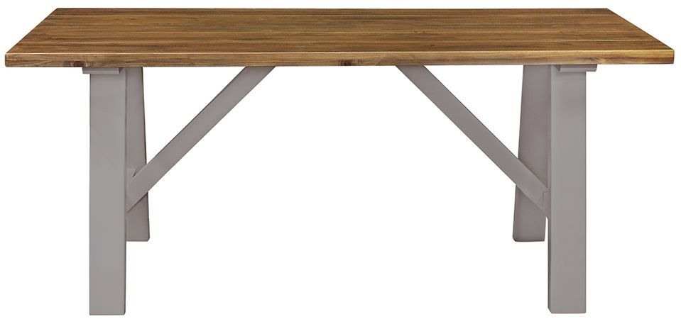 Regatta Grey Trestle Dining Table - 180cm