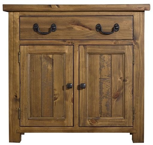 Regatta Rustic Pine Sideboard - 2 Door 1 Drawer