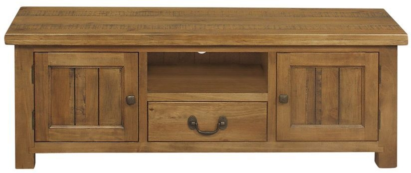 Regatta Rustic Pine TV Unit - 2 Door 1 Drawer