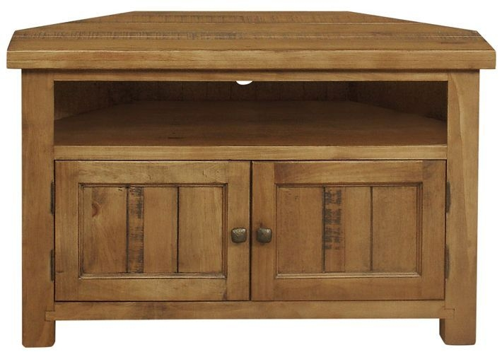 Regatta Rustic Pine TV Unit - Corner