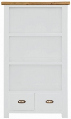 Regatta White Painted Bookcase