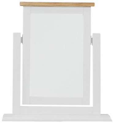Regatta White Painted Dressing Mirror