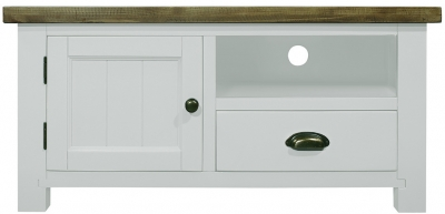 Regatta White Painted Small TV Unit