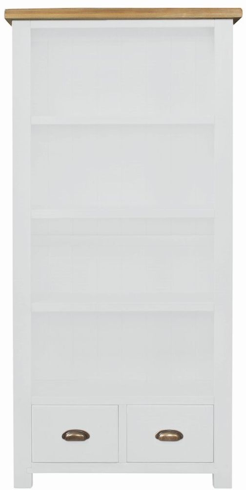 Regatta White Painted Large Bookcase