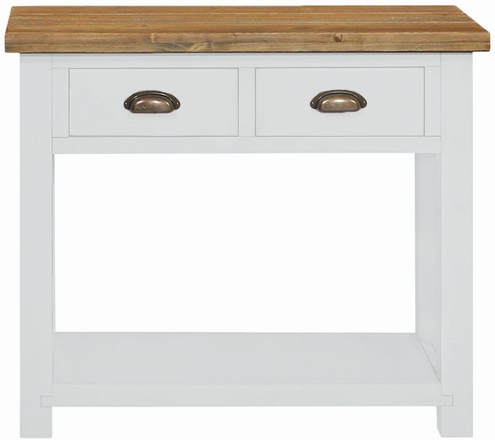 Regatta White Painted Large Console Table