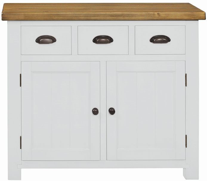 Regatta White Painted 2 Door 3 Drawer Sideboard