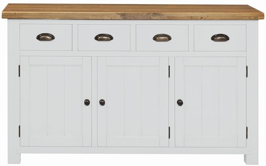 Regatta White Painted Wide Sideboard