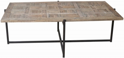 Renton Industrial Reclaimed Oak Coffee Table