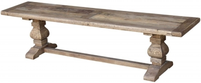 Renton Old Elm Dining Bench