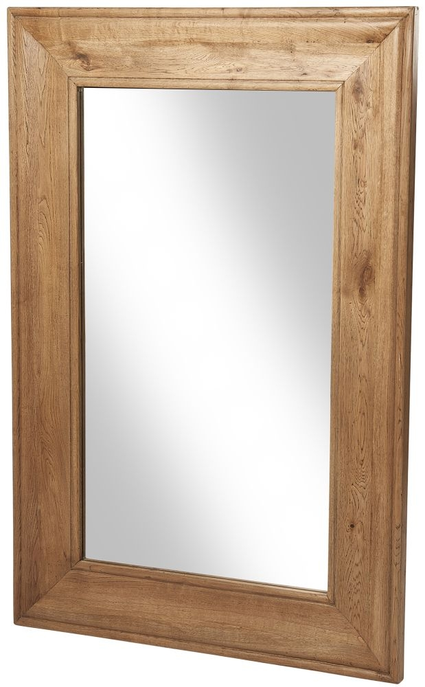 Renton Oak Rectangular Mirror - 150cm x 100cm