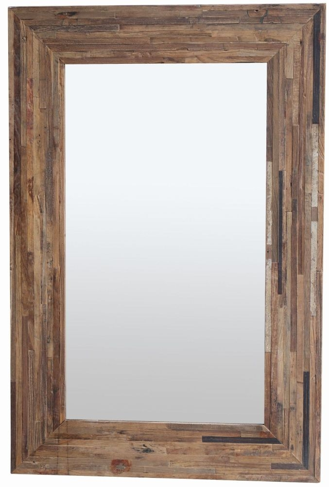 Renton Old Elm Rectangular Mirror - 100cm x 150cm