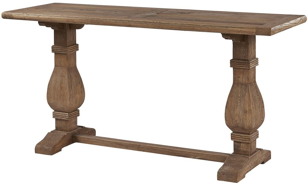 Renton Reclaimed Elm Refectory Console Table