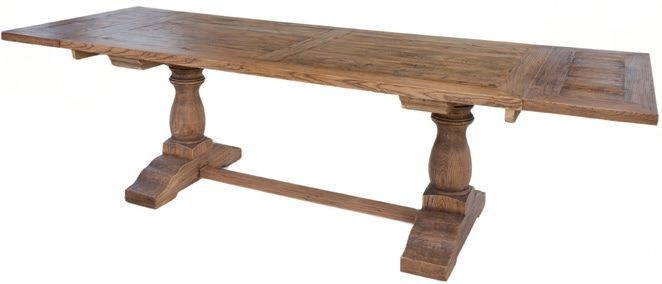 Renton Reclaimed Elm Refectory Extending Dining Table