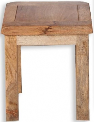 Bombay Oak Dressing Stool