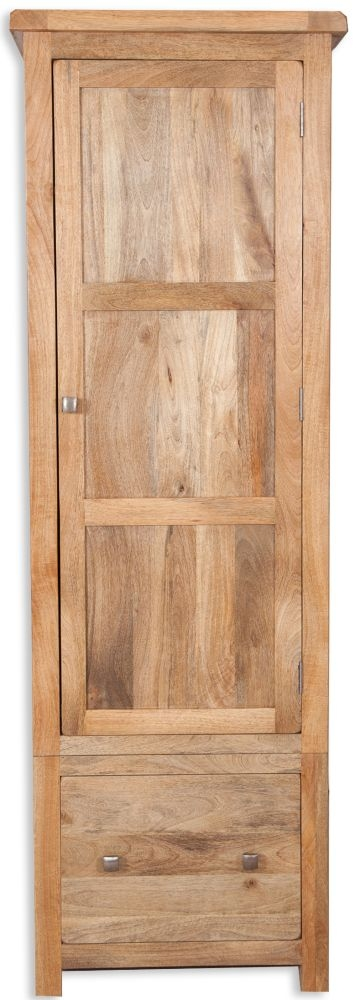 Bombay Mango Wood 1 Door 1 Drawer Wardrobe