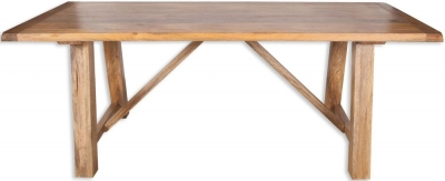 Bombay Mango Wood Medium Dining Table