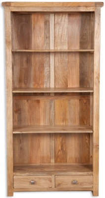 Bombay Mango Wood Large Bookcase