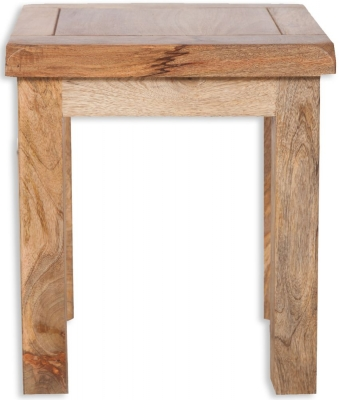 Bombay Mango Wood Lamp Table