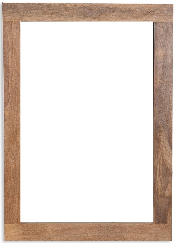 Bombay Oak Mirror