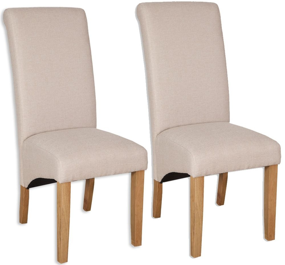 Bombay Oak Natural Fabric Dining Chair Pair : 3 Bombay Oak Natural Fabric Dining Chair Pair from furniturecompare.uk size 1000 x 932 jpeg 206kB