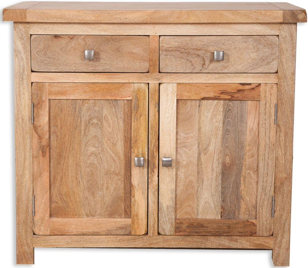 Bombay Oak Sideboard - 2 Door