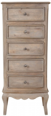 Calais Chest of Drawer - Tall 5 Drawer