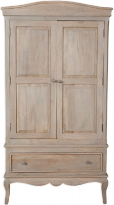 Calais Wardrobe - 2 Door - 1 Drawer
