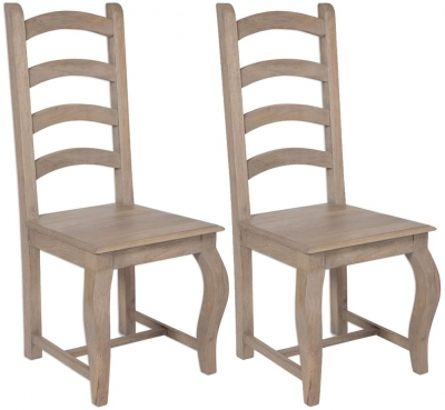 Calais Dining Chair - High Back (Pair)
