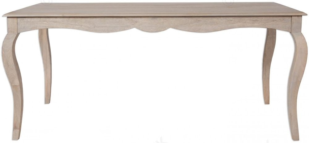 Calais Grey Washed Large Dining Table