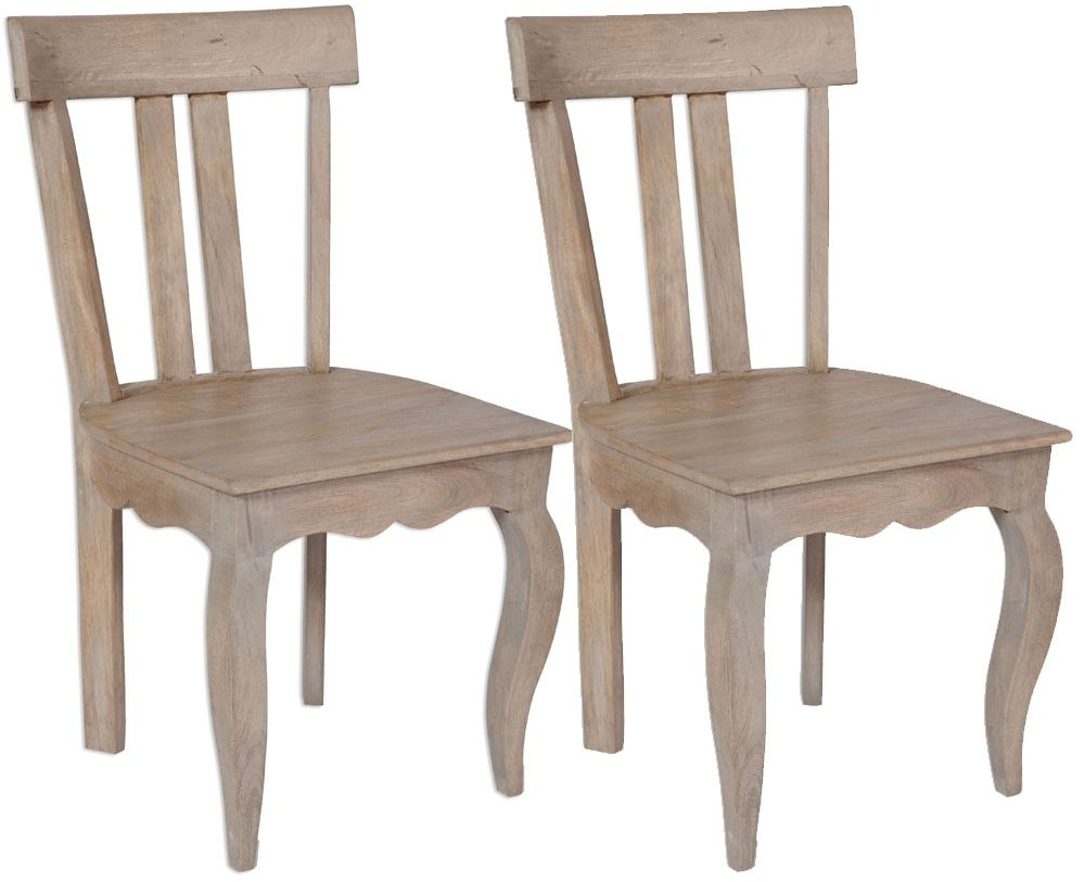Calais Dining Chair - Low Back (Pair)