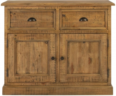 Colorado Distressed 2 Door 2 Drawer Sideboard