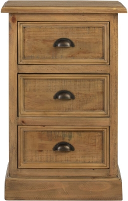 Colorado Distressed Bedside Cabinet