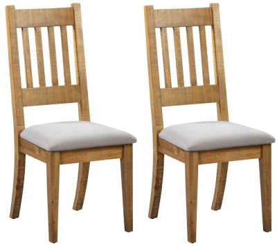 Colorado Distressed Dining Chair (Pair)