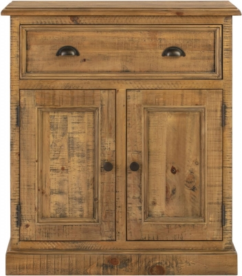Colorado Distressed Hall Cabinet