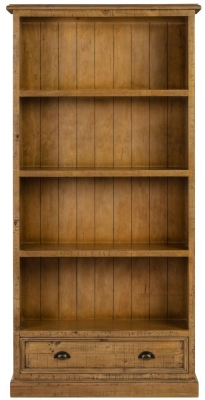 Colorado Distressed Large Bookcase