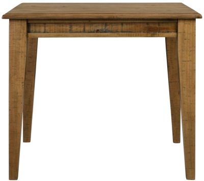 Colorado Distressed Square Dining Table