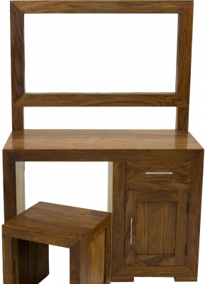 Cuban Dressing Table and Mirror