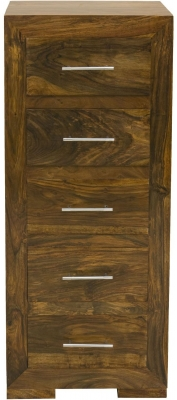 Cuban Tall Chest of Drawer - 5 Drawer