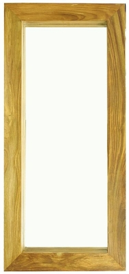 Cuban Petite Mango Wood Tall Mirror
