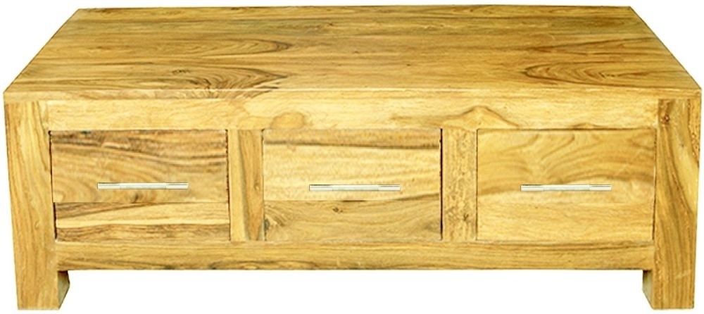 Cuban Petite Mango Wood Coffee Table