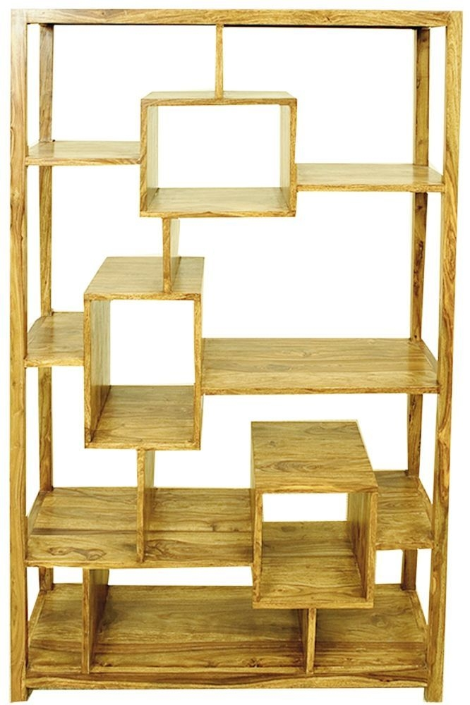 Cuban Petite Mango Wood Large Bookcase