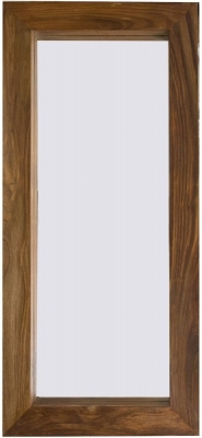 Cuban Petite Mango Wood Tall Mirror - 60cm x 130cm