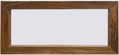 Cuban Petite Sheesham Rectangle Mirror - 110cm x 75cm